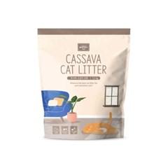 [룸펫] 사막화 방지 천연원료 카사바 고양이모래3.2kg