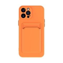 갤럭시 버디 (A22 5G) 베이직 컬러 카드 슬롯 케이스
