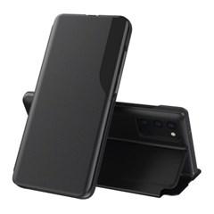 갤럭시 버디 (A22 5G) 레더 플립 글로리 케이스
