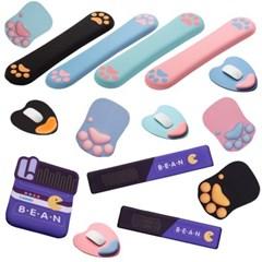 잼몬스터 마우스패드 메모리폼 손목받침대 단품