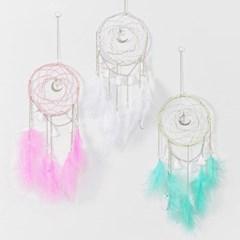 풍수 LED 달 드림캐쳐 (3colors)