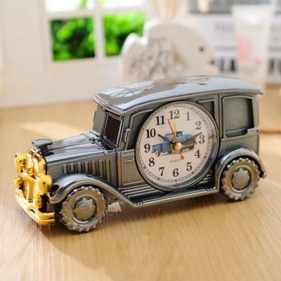 비진 빈티지 자동차 카 인테리어 탁상시계