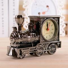 비진 빈티지 트레인 기차 인테리어 탁상시계