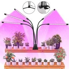 식물성장조명 쿼드 LED 램프 재배 촉지 다육 생장등 J