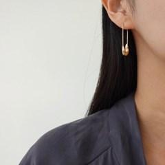클립 드롭 볼드 골드 실버 E1313 패션 귀걸이