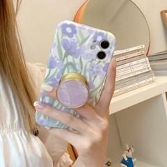 아이폰 케이스 12 11 프로 맥스 미니 퍼플 스마트톡