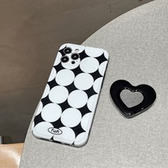 아이폰 케이스 12 11 프로 맥스 미니 하트 스마트톡