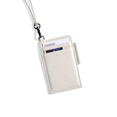 D Ring Flat Card Holder
