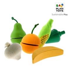 플랜토이즈 원목장난감 주방놀이 과일과 채소 모음전