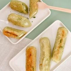 [남도장터]담양영농 죽순품은 생 치즈떡 300g x 2팩