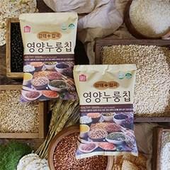 [남도장터]쌍지뜰 바삭바삭 감태 영양 누룽칩 32g x 24개