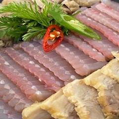 [남도장터]홍어연구소 프리미엄 흑산 암치 홍어 1kg 강한숙성