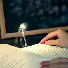 휴대용 LED 클립 북 라이트 램프 스탠드조명 무드등