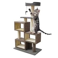 고양이 놀이터 캣타워 스크래쳐 INT 005 고양이장남감 고양이집