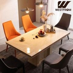 웨스트프롬 파밀리아 대리석 6인 식탁 (의자제외)
