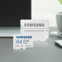 삼성전자 삼성 마이크로SD카드 EVO PLUS 64GB MB-MC64KA/KR