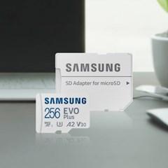삼성전자 삼성 마이크로SD카드 EVO PLUS 256GB MB-MC256KA/KR