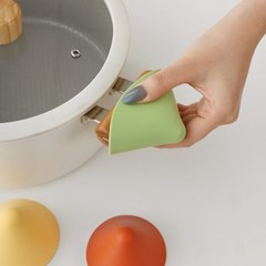 헤이 실리콘 냄비손잡이 2P세트 4color / 삼각 주방 오븐장갑