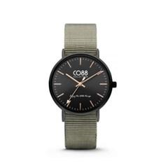 [CO88] 데일리 나토 스트랩 손목시계 블랙 8CW-10037