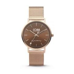 [CO88] 스틸 메쉬 스트랩 손목시계 8CW-10011