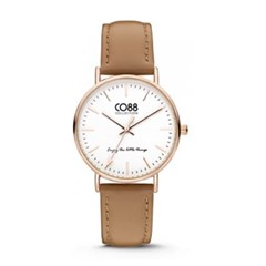 [CO88] 가죽 스트랩 손목시계 8CW-10005