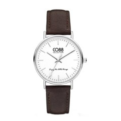 [CO88] 가죽 스트랩 손목시계 8CW-10004