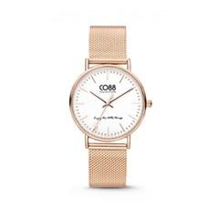[CO88] 스틸 메쉬 스트랩 손목시계 8CW-10001