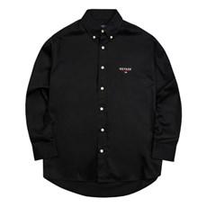 시그니처 베이직 셔츠 (블랙) Signature Basic Shirt (black)
