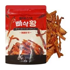 황태스낵 빠삭황 매콤한맛 60g