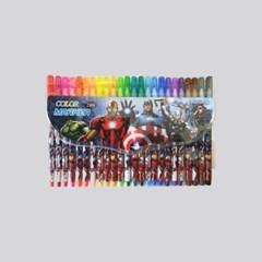마블 캐릭터 항균코팅처리 24색 사인펜