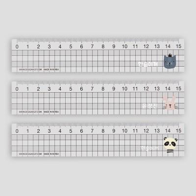 [주문제작]네임 투명자 15cm해피프렌즈