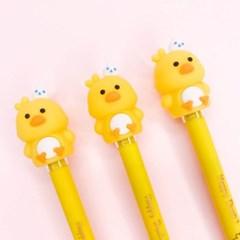 [맙소사잡화점] 까꿍 토끼 아기 오리 미니 피규어 젤 펜