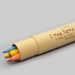 [더사랑 보킷] 친환경문구 재생종이 색연필 (5psc)