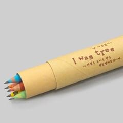 [더사랑 보킷] 친환경문구 재생종이 연필 (5psc)