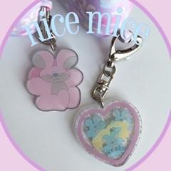 [뮤즈무드] nice mice key ring (키링)