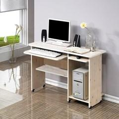 모던 컴퓨터 입식책상 03 선반 1인용 테이블