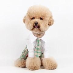 패션펫플 강아지 예고 스타일 교복 하이틴 스쿨룩 남아용
