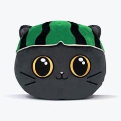 귀여운 고양이 캐릭터 귤냥이와친구들 멜냥이 쿠션