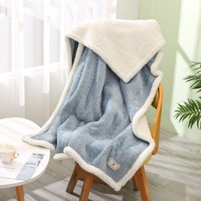 스웨터 양털 담요 집순이 겨울 캠핑 차박