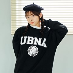 UBNA 엠블럼 로고 스웨트셔츠(기모안감) 3 Colors