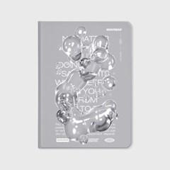 BUBBLE TYPO-GREY(아이패드-커버)