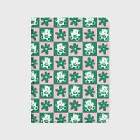 CHECK BABA-GREEN/PINK(아이패드-커버)
