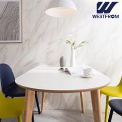 에스메랄다 1400 원목 반타원 테이블(식탁)