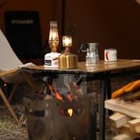 히치하이커 감성캠핑 홈캠핑 우드 롤테이블