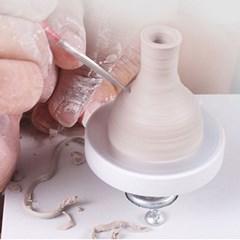 DIY 미니 전기물레 도예 미니어처 도자기 만들기