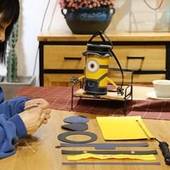 [밍글즈] DIY 미니언즈 가죽가방 만들기