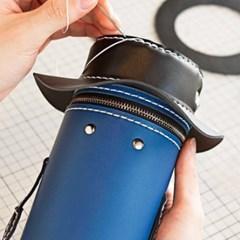 [밍글즈] DIY 캔인형 가죽가방 만들기
