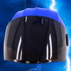전대물 슈퍼 히어로 모자 헬멧가면 (블루)