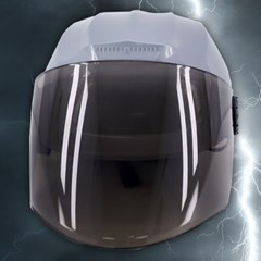 전대물 슈퍼 히어로 모자 헬멧가면 (그레이)