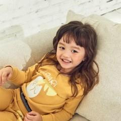[스토] 아이 다이노에그 실내복_Yellow